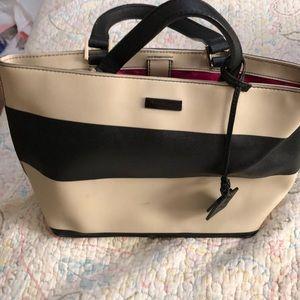 Kate Spade Black And cream purse